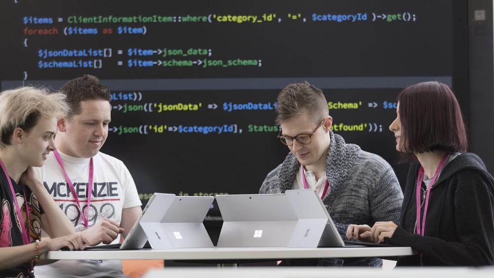Digital Apprenticeships Students
