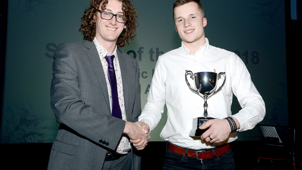 Over 19 Student of the Year - Ryan Morris